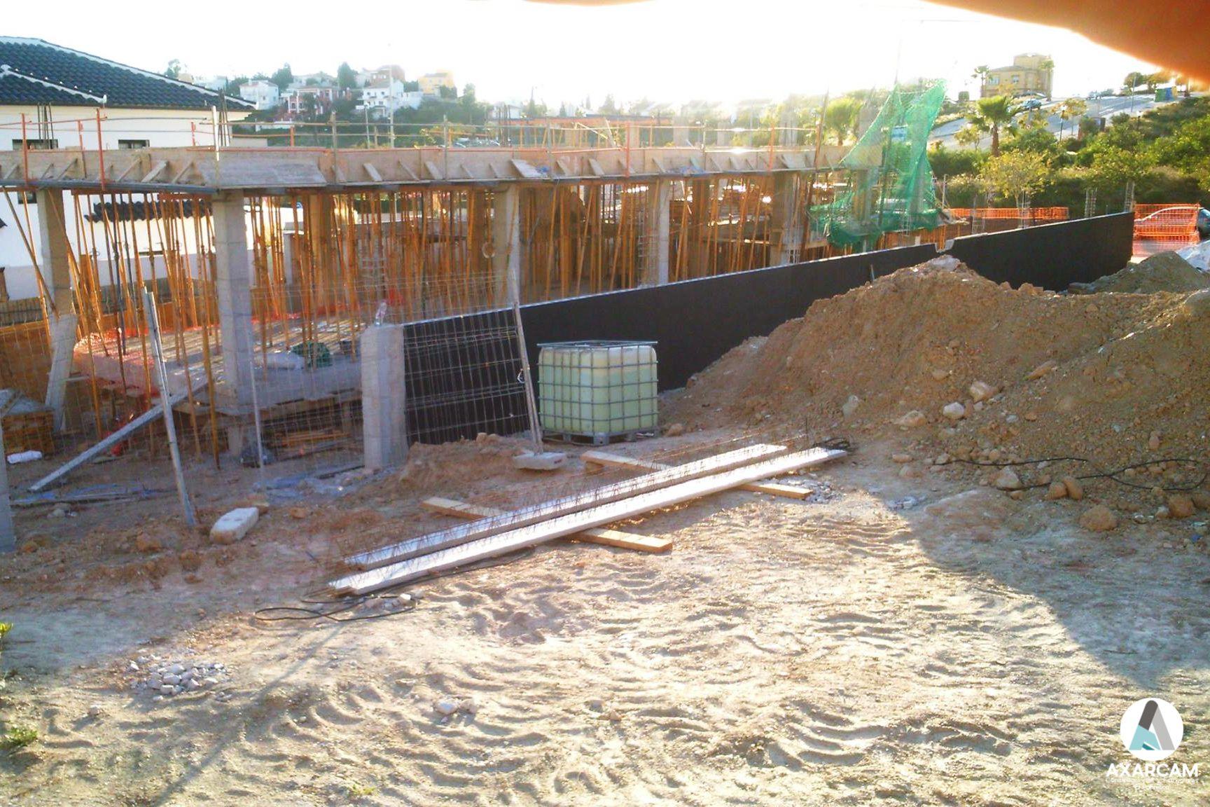 Chalet en construcción