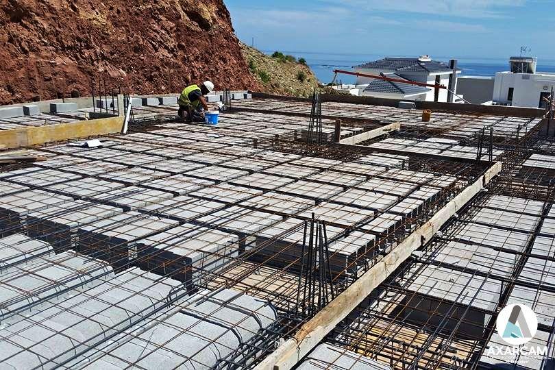 Obras nueva construcción casa