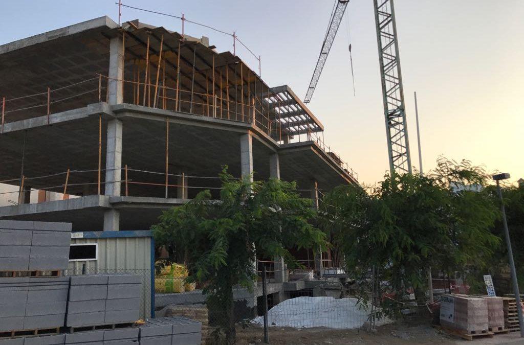 Construcción bloque 14 viviendas en Estepona