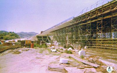Construcción puente Autovía A7 a su paso por Vélez-Málaga