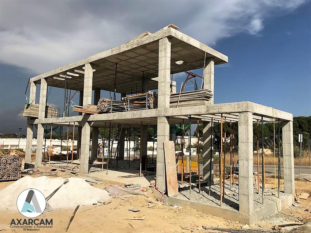 Estructura Alhaurín de la Torre - AXARCAM Construcciones y Estructuras (1)