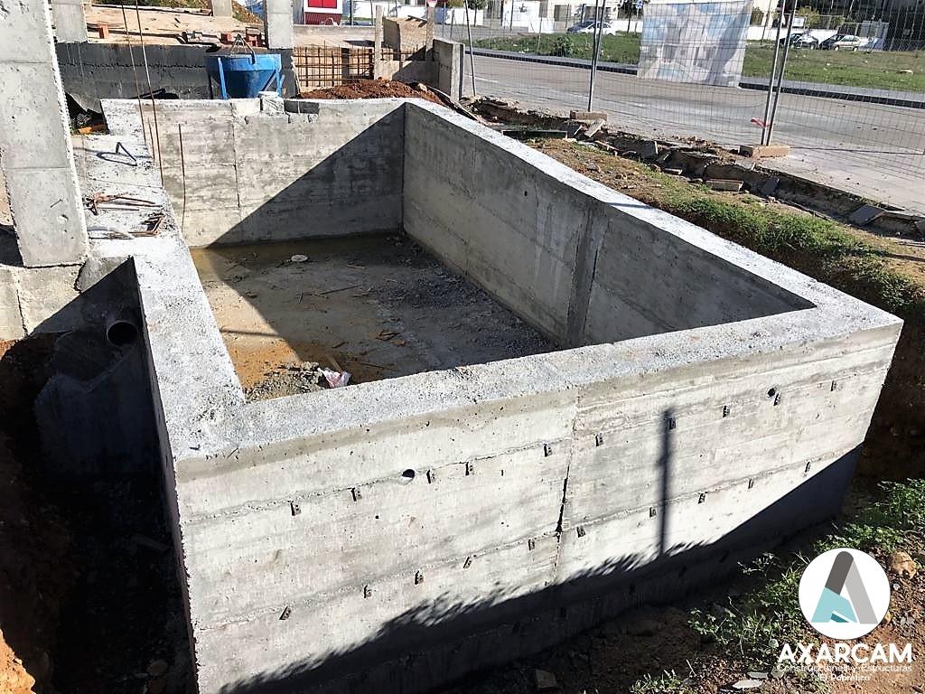 Piscina en Alhaurín de la Torre - AXARCAM Construcciones y Estructuras (1)